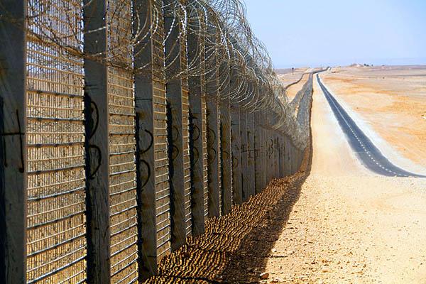 граница забор