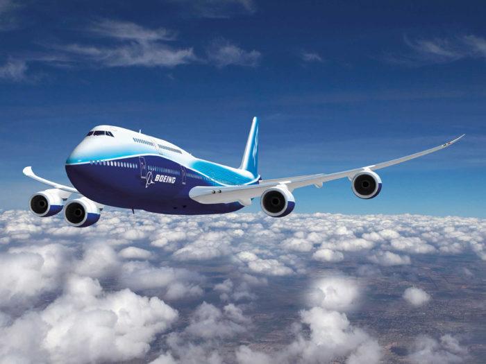 747-8 In-flight Artwork  K64146
